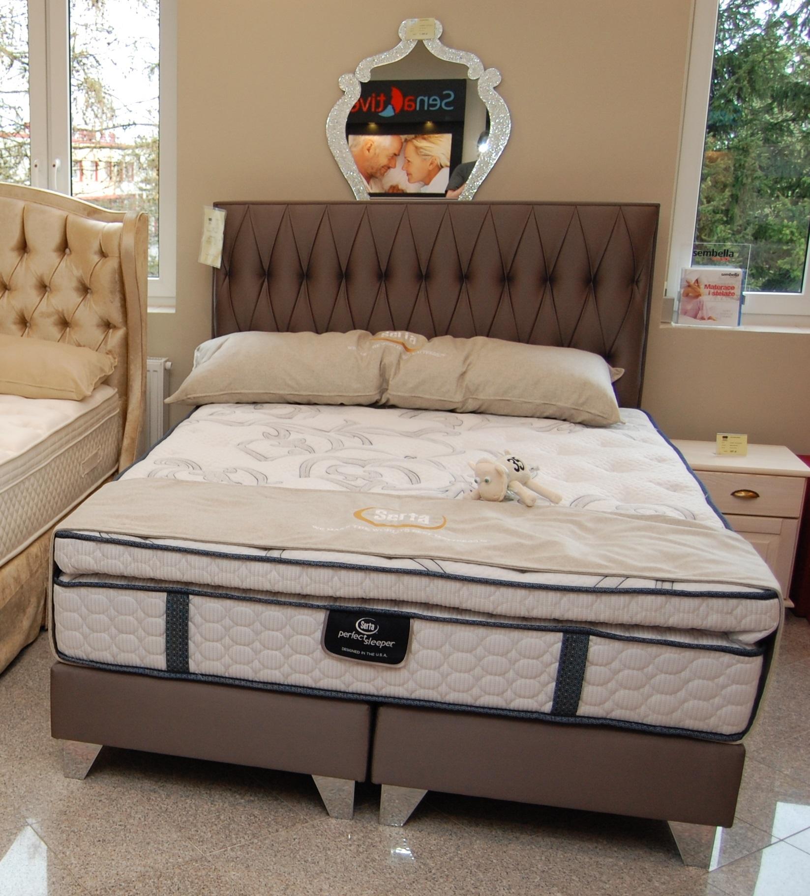 łóżko Kontynentalne Lozan Amerykańskiej Firmy King Koil